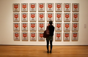 Warhol's Campbell's Soup cans
