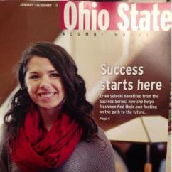Erika.OSU Alumni magazine